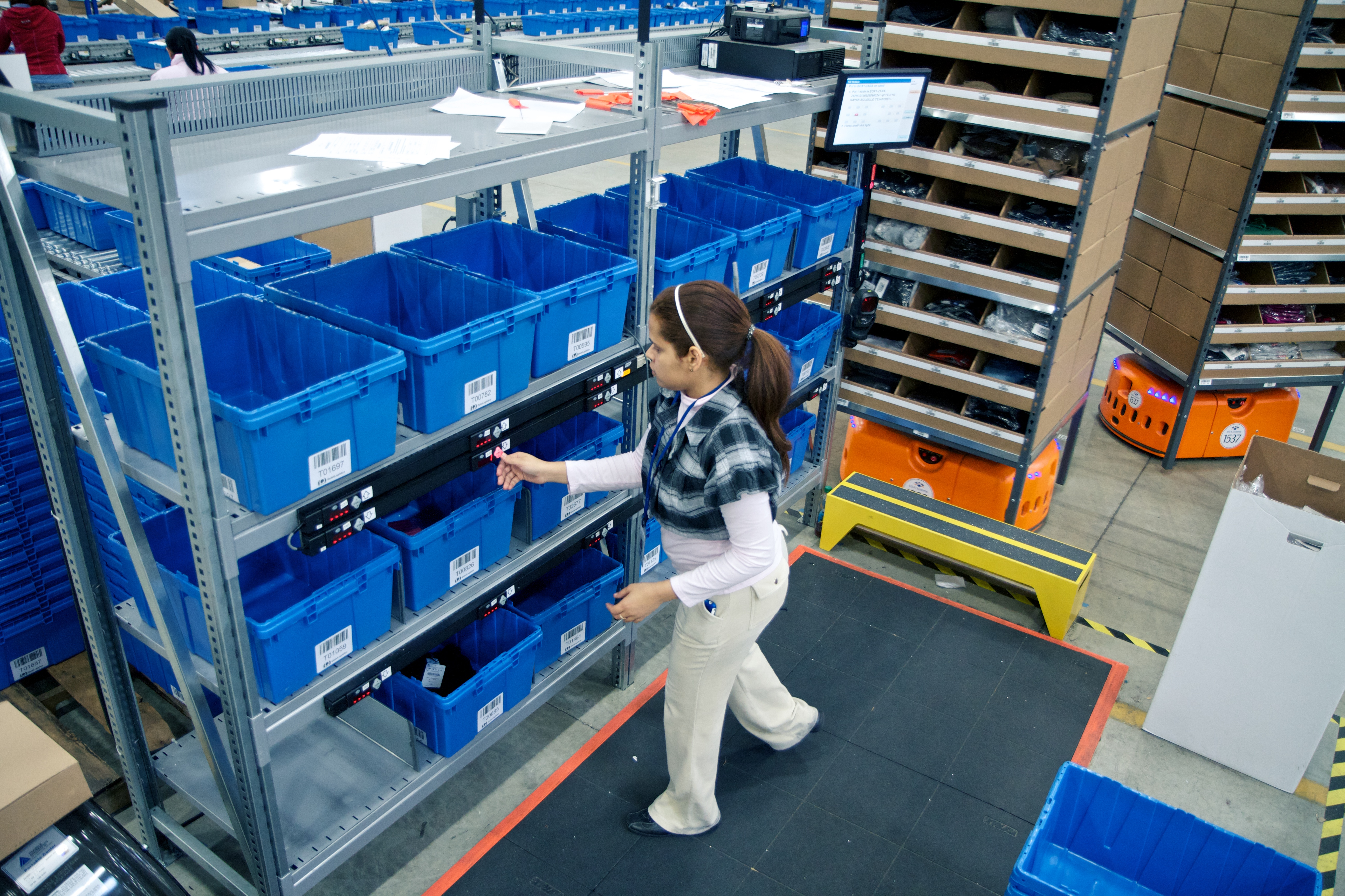 Goods-To-Person Order Fulfillment Poses A Radical Shift In