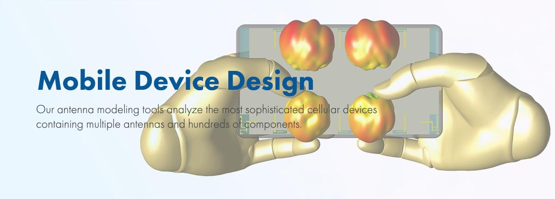 XFdtd's Advantages For Mobile Device Design