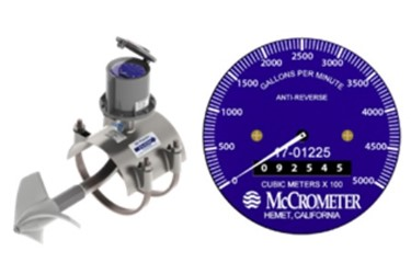 McPropeller flow meter.