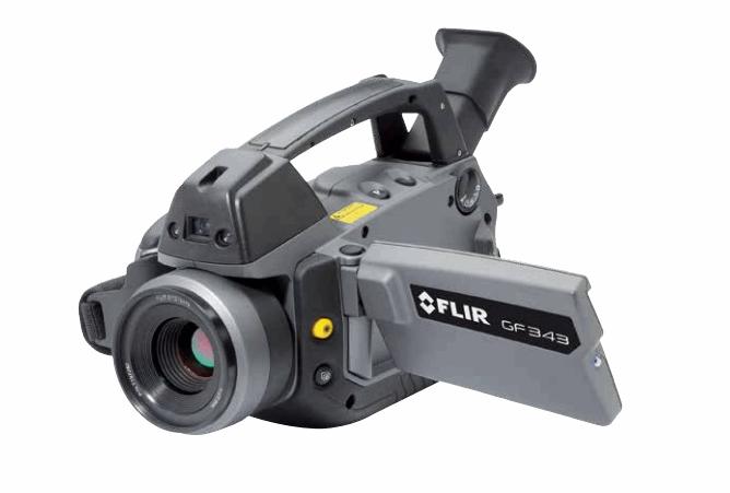 Infrared Camera For CO2 Leak Detection FLIR GF343