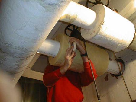 New Wicking Approach Protects Cold Pipes From Insulation