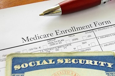 Medicare Form And SS Card
