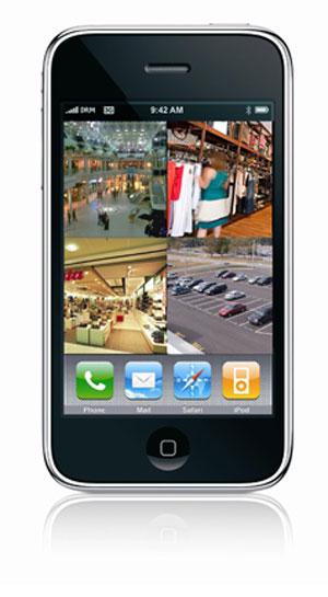 video surveillance iphone app