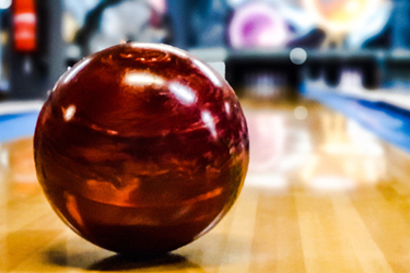 Bowling Ball On Lane
