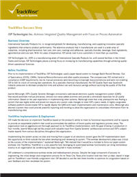 quality management case study (jeeves plc) Case study: building a qms to deliver high-quality it services tulip telecom, a data telecom and it service provider, built their management system to ensure.