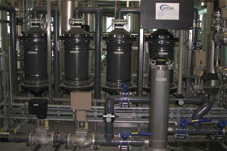 Oxygen Removal From Feedwater In A Central District