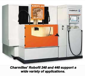 charmilles new robofil 240 and 440 support a variety of applications rh machinetoolsonline com
