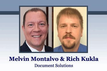 Rich Kukla (IT Manager) and Melvin Montalvo (IT Project Manager), Document Solutions, ASCII Group member since 2014
