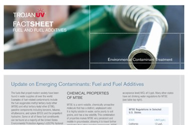 Fuel and Fuel Additives (Fact Sheet)