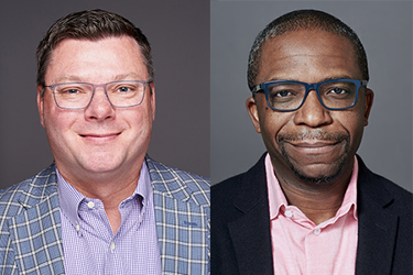 Mike Atkinson, Head of Life Sciences, and Melvin Bosso, principal at Myrtle Consulting Group