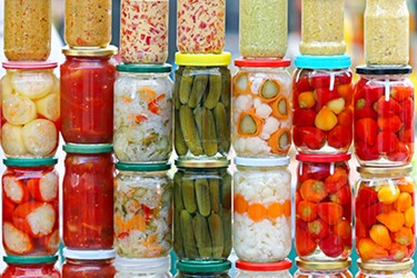 Pickled Food Jars 450x300