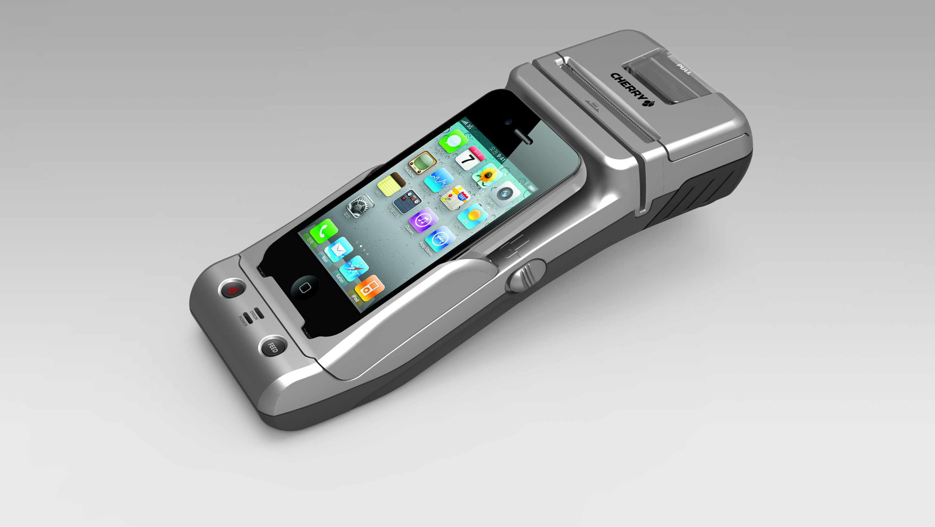 Cherry Introduces The Itransigo Mobile Point Of Sale Sled