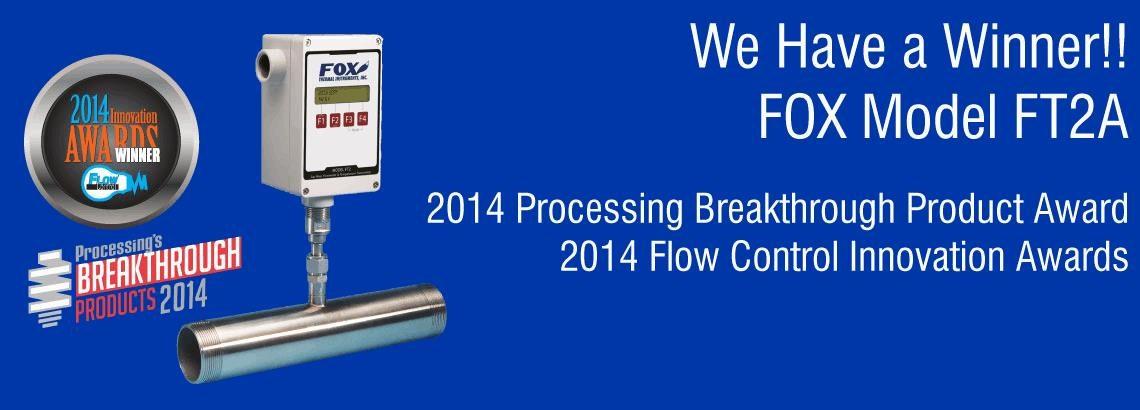 Fox Model FT2A Gas Mass Flow Meter