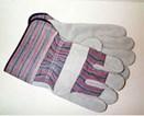 Leather Palm Work Glove, Safety Cuff