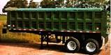 Steel Body Dump Trailer