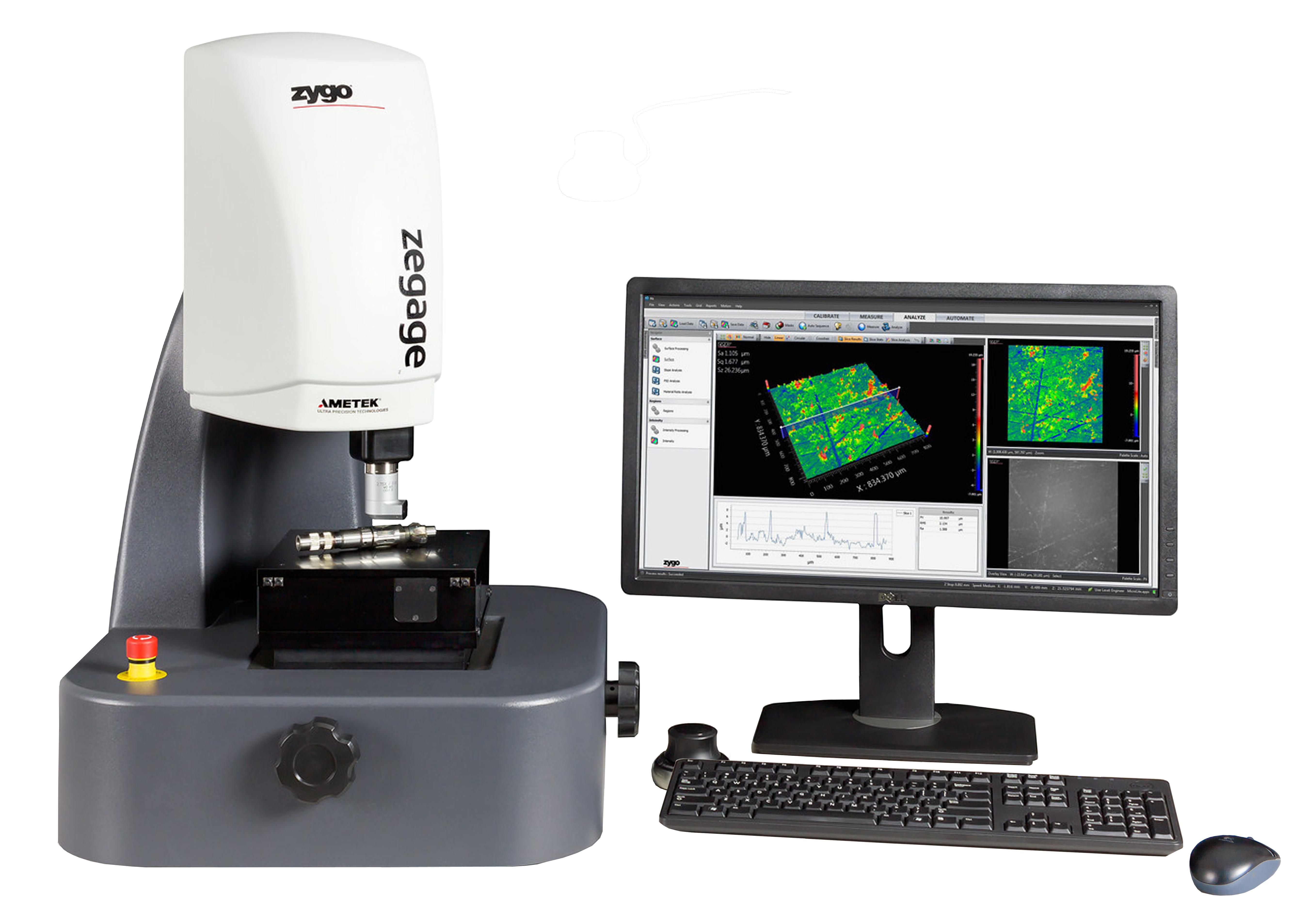 Zegage 3d Optical Surface Profiler