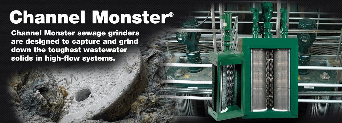 Channel Monster® Wastewater Grinders
