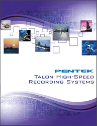 Pentek Talon High-Speed Recording Systems Catalog