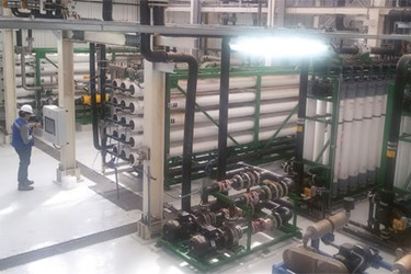 Desalinated Water Supply Helps Plant Meet Strict Environmental Regulations