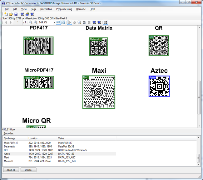 LEADTOOLS Barcode Pro Developer Toolkit