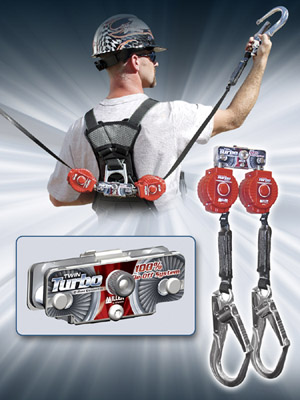 Miller Twin Turbo Fall Protection System