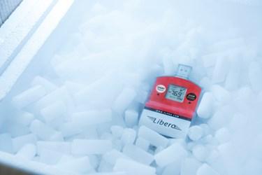 Cold Chain Dry Ice Data Logger: LIBERO Ti1-D