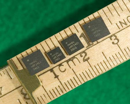 Nordic Semiconductor Launches nRF2401A 2 4 GHz Transceiver