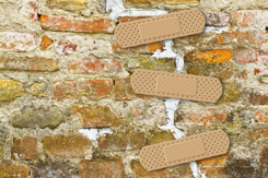 Band-Aid Over Brick Wall