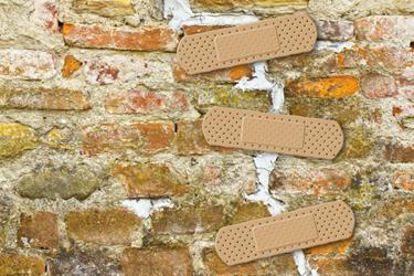 Band-Aid Over Brick Wall