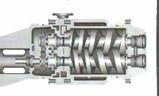 Rotary Screw Dry Vacuum Pumps