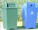 Litter Receptacles & Recycling Containers