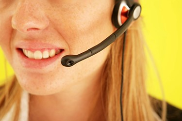 customer service headset
