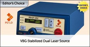 VBG-Stabilized Dual Laser Source