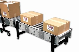 Modular Powered Roller Conveyors Offer An Eco-Friendly Material
