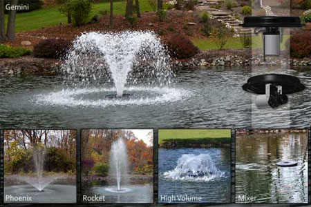 Otterbine Offers New Solution For Small Pond Aeration