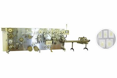 Hydrocolloid Dressing Die-Cutting and Packaging System