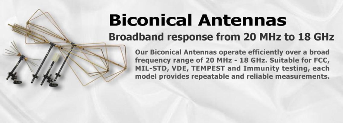 <B>Biconical Antennas</b>