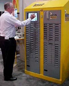Westec 2000 Kennametal Debuts Re Invented Tool Dispenser