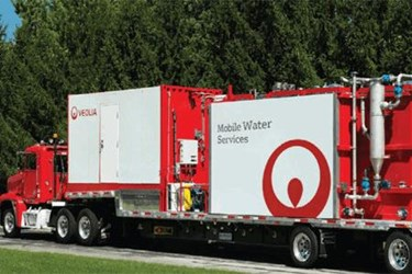 Mobile Water Services: ACTIFLO® Clarification