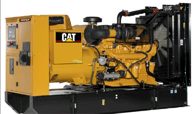 Power Generation Diesel Generation Set 320 55 0001 on caterpillar 455 engine