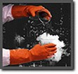 Orange Supaweight G02T Industrial Cleaning Gloves