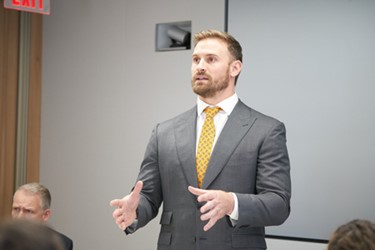 SUEZ Convenes Meeting With Philadelphia Eagles' Chris Long And Key Water Business Leaders To Raise Awareness Of Global Water Scarcity