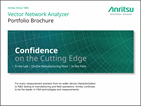 Confidence on the Cutting Edge: Vector Network Analyzers Portfolio Brochure