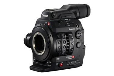 Digital Cinema Camera: EOS C300 Mark II