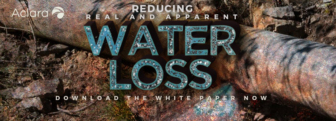 Using Analytics To Reduce Apparent And Real Water Loss