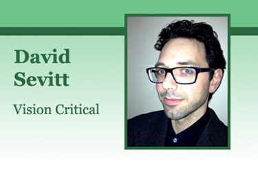 David Sevitt, VP, Consumer Insight, Vision Critical
