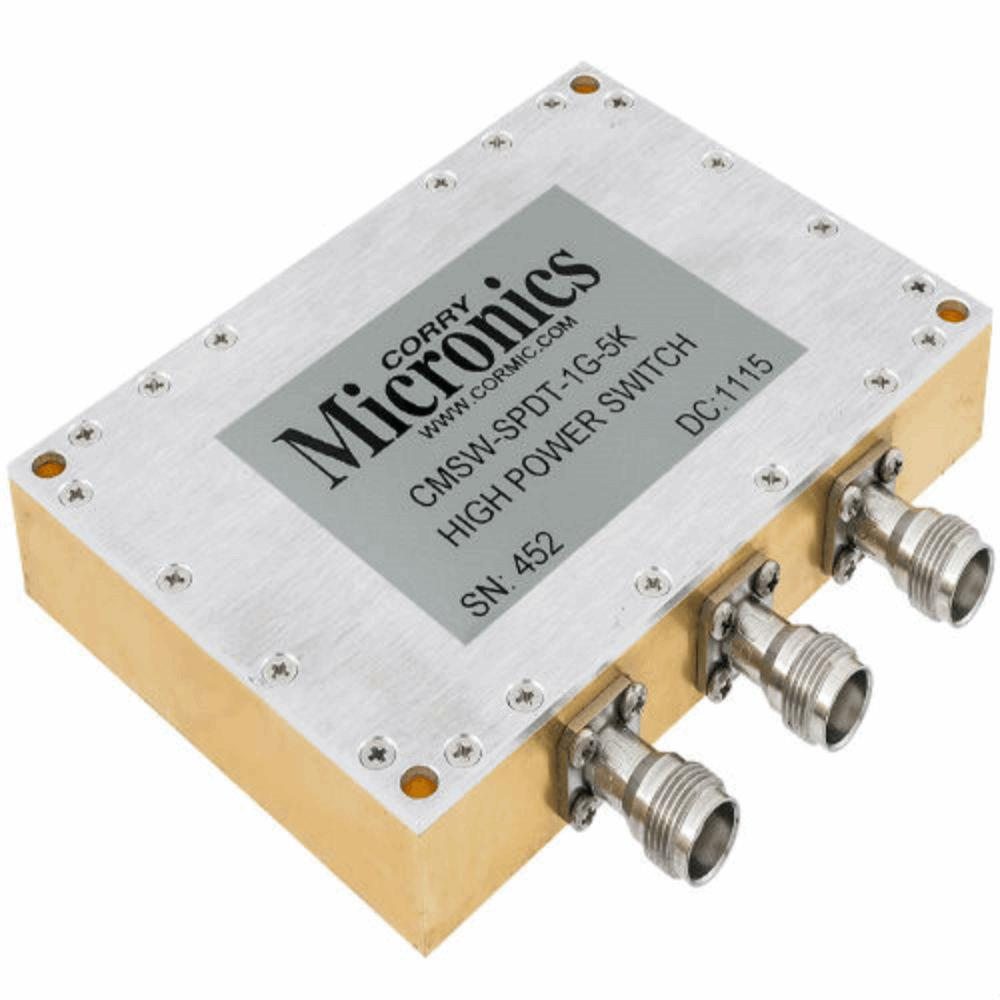 High Power SPDT Reflective Switch For 1 GHz 11 GHz Applications CMSW ...