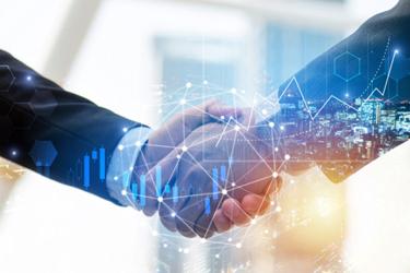 handshake partnership working together
