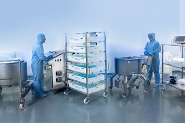 Pall Helium Integrity Test (HIT™) Technology for Allegro™ 2D Single-Use Systems