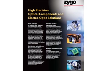 Zygo® Optical Systems Division